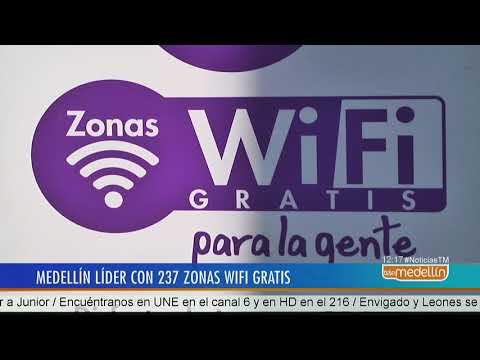 Medellín es la ciudad más conectada de Colombia con 237 zonas WiFi gratuitas  - Telemedellín