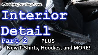 Full Interior Detail // Real Time // Ford Escape // Part 2 //Plus New T-shirts, hoodies, and more!