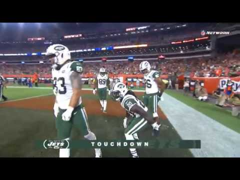 new style 6d01c 6d0d2 Isaiah Crowell Unsportsmanlike Conduct Penalty After Touchdown | Jets vs.  Browns | NFL