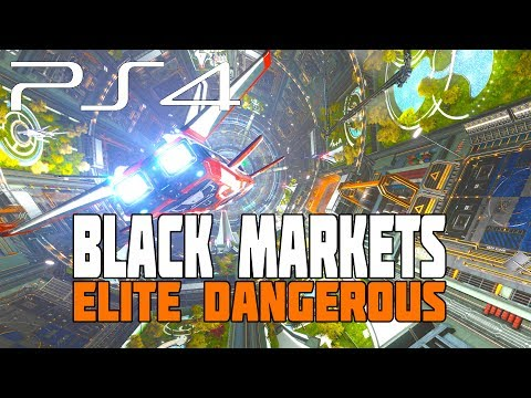 Elite Dangerous - Black Markets, Smuggling and The Dweller - PS4