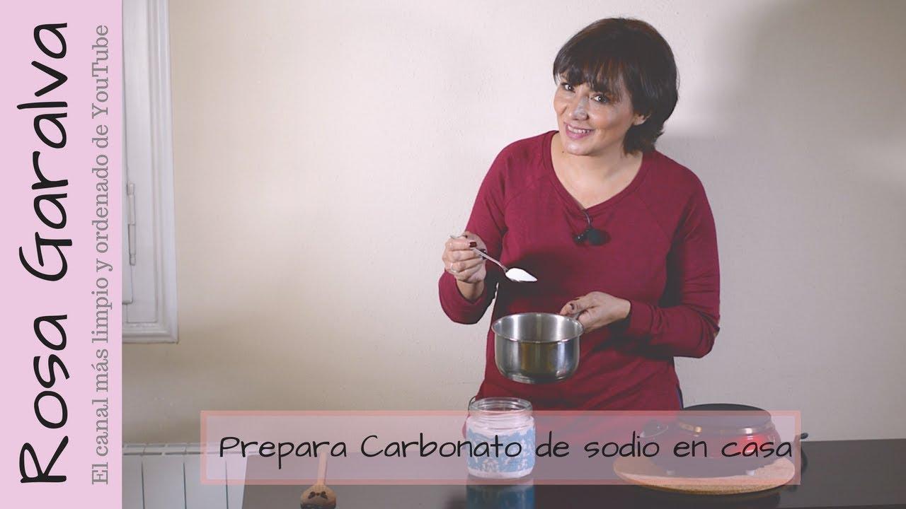 Cómo Hacer Carbonato De Sodio En Casa