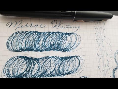 Let's Practice Cursive - Mirror Writing