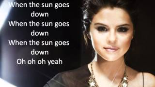 Watch Selena Gomez When The Sun Goes Down video