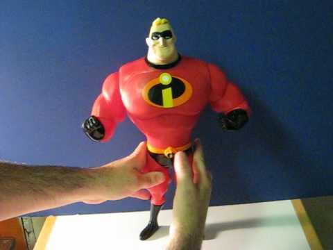 Ebay Item Demo Incredibles Talking Mr Incredible Figure Youtube