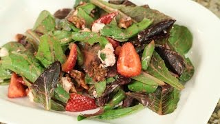 Strawberry Salad - W/walnuts, Goat Cheese, Strawberry Vinaigrette By Rockin Robin