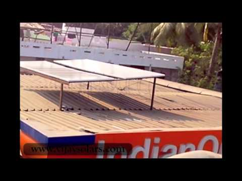 Solar Powered Petrol Station (www.vijaysolars.com)