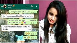 Girls Personal Chat-  Whatsapp conversation