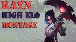 KAYN HIGH ELO MONTAGE - BEST KAYN PLAYS