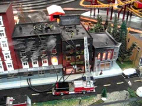 3rd Part Of Blackstone Va Model Train Display Youtube