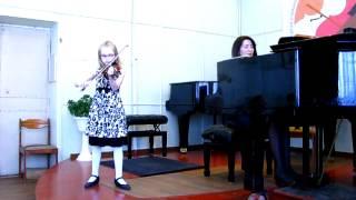 Мария Акимова, 8 лет. Закир Багиров. Романс.