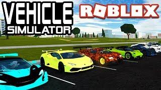 ROBLOX Vehicle Simulator Fan Car Show!! - ROBUX PRIZES