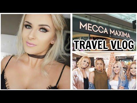Travel Vlog // Mecca Maxima NZ Opening + 2 hrs Sleep!