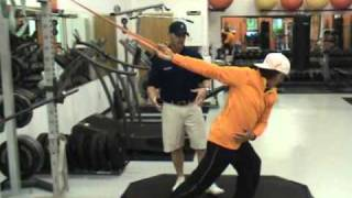 Rickie Fowler-Pre-Warm Up at The GolfGym Academy