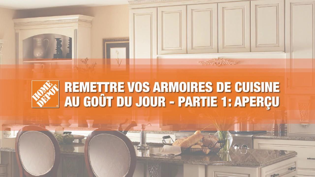 remettre vos armoires de cuisine au gout du jour partie 1 apercu youtube. Black Bedroom Furniture Sets. Home Design Ideas