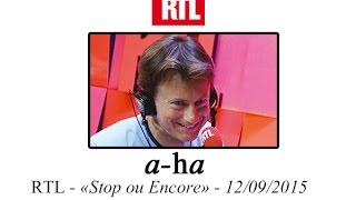 """[A-ha FR] Promotion Radio RTL : """"Cast in Steel"""" et """"Hunting High & Low"""""""