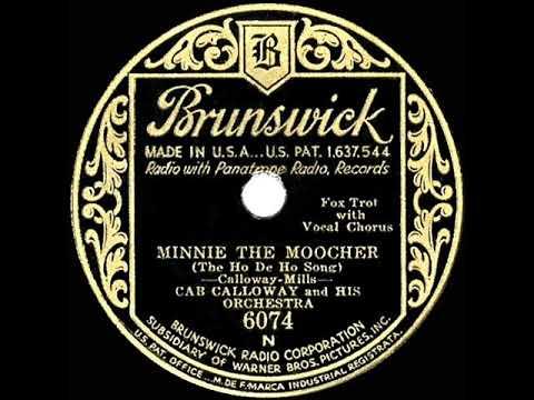 1931 HITS ARCHIVE: Minnie The Moocher - Cab Calloway (original Version)