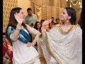 Pakistani Famous Twins Sisters Aiman Khan AND Minal Khan enjoying together