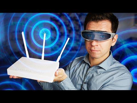 Как увидеть радиоволны Wi-Fi?
