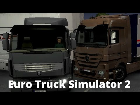 EURO TRUCK SIMULATOR 2 | MERCEDES COPPER ROOF GUTTERS | ETS2 1.35 - ATS PC TRUCKING  WORLD OF TRUCKS