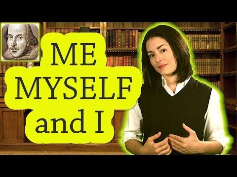 Me, Myself, and I |  Basic English Grammar Rules | ESL | SAT | TOEFL