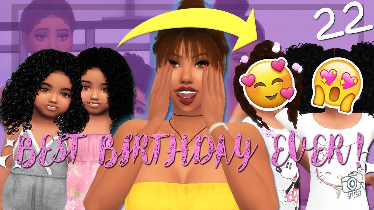 Download (BEST TWINS BIRTHDAY)🎀   RUNAWAY TEEN PREGNANCY CHALLENGE   The Sims 4   Ep.22