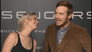 Jennifer Lawrence Pranks Chris Pratt   Passengers Co-Star