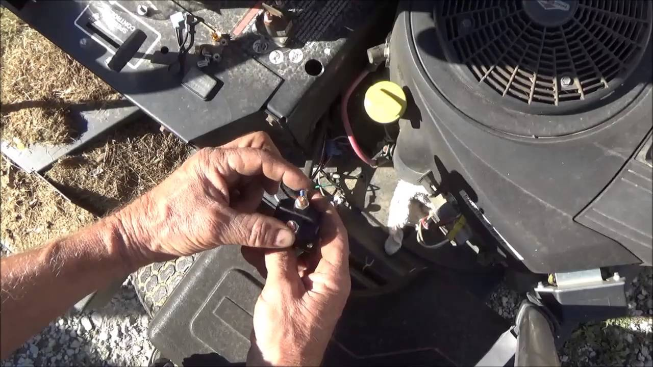kohler engine ignition switch wiring diagram lawn mower starter clicks but won t start  change solenoid  lawn mower starter clicks but won t start  change solenoid