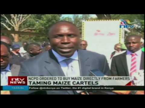 NCPB ordered to buy maize directly from farmers in effort totem maize cartels