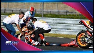 Download Video MARC MARQUEZ TERJATUH DI SESI KUALIFIKASI MOTO GP VALENCIA 2018 MP3 3GP MP4