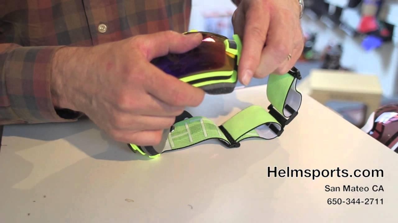 7c87b4a7e3 How To Change The Lens On a Smith I OX and IO Ski Goggle - YouTube
