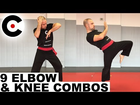 9 Simple & Powerful Elbow & Knee Set-Ups and Combos | EMA