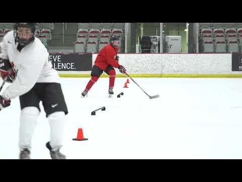 HCN Drill of the Month: Half-Ice Lanes