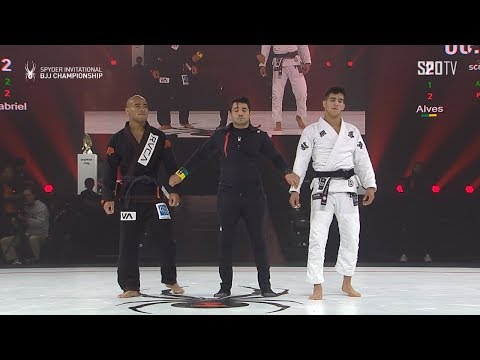 [2019 SPYDER INVITATIONAL BJJ CHAMPIONSHIP FINAL]-76kg Johnatha Alves Vs Matheus Gabriel