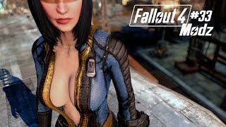 Fallout 4 Modz # 33 Unzipped Vault Suit - CBBE & Tumbajamba's Spartan Battle Suit
