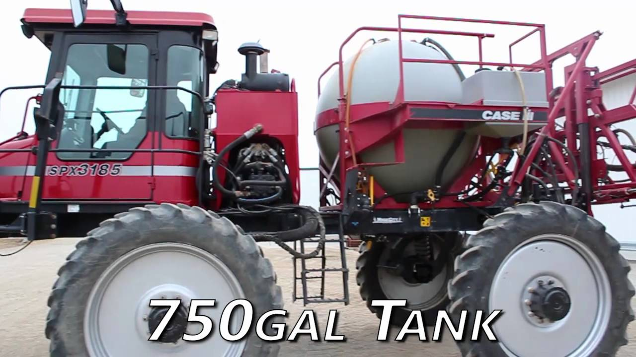 Used Patriot For Sale >> Case IH SPX3185 - 90 ft, 750 Gallons, LightBar Sprayer-Self Propelled For Sale - YouTube