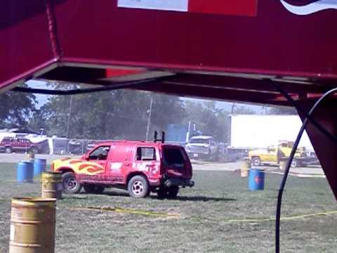 Ron Coppock tough truck troy mud bogs
