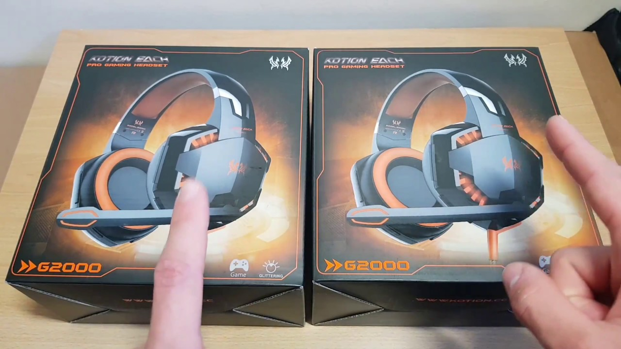 Kotion Each G2000 Pro Gaming Headset Review Giveaway Youtube