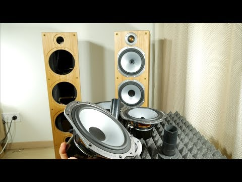 Look Inside Monitor Audio Bronze Speaker - What's Inside?