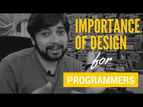How much important is design for programmers 😃