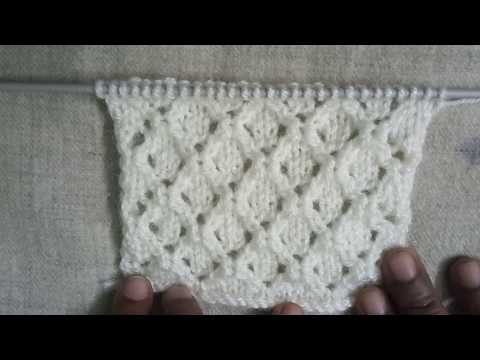 Easy Single Color Knitting Pattern No.125 for Ladies/Gents/Kids|Hindi