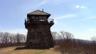 High Knob Fire Tower Lookout