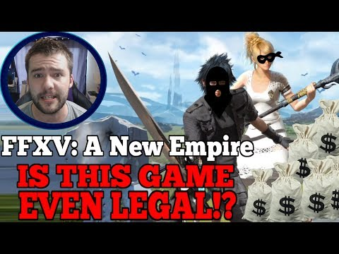 WTF!? Discussing rumours that Final Fantasy XV A New Empire is an illegal ponzi scheme!
