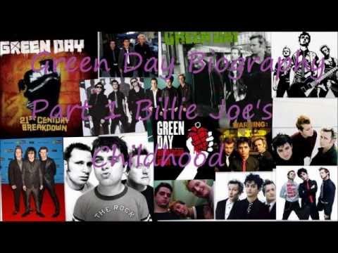 Green Day Biography Part 1 Billie Joe's Childhood