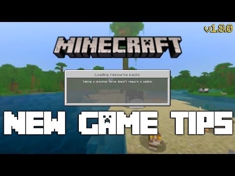 New Game Tips On The Bedrock Edition Of Minecraft Youtube