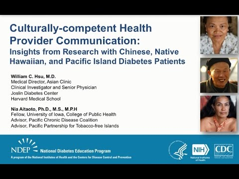 Culturally-competent Health Provider Communication
