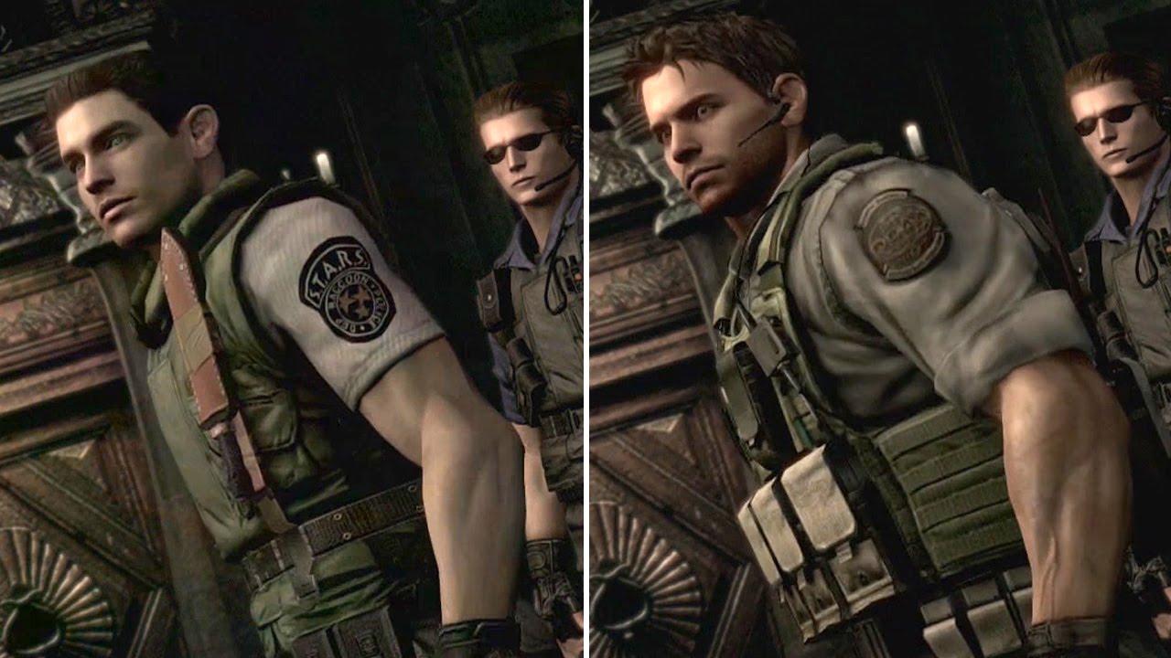 Resident Evil 5 Chris In Resident Evil 1 Hd Remaster Xbox One