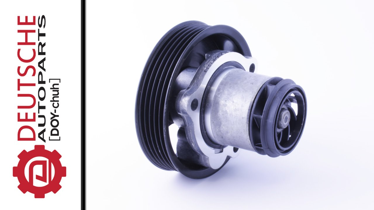 vw 2 5l 5 cylinder oem water pump 07k121011b [ 1280 x 720 Pixel ]