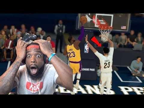 Lebron James Dunked On Anthony Davis! Lakers vs Pelicans NBA 2K19 MyCareer Ep 71 thumbnail