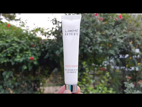 Lakme absolute perfect radiance skin lightening day cream with sunscreen review, cream for oily skin