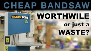 Cheap Bandsaw - worthwhile, or just a waste? #050